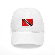 Distressed Trinidad and Tobago Flag Baseball Baseball Cap