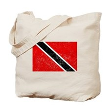 Distressed Trinidad and Tobago Flag Tote Bag