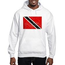 Distressed Trinidad and Tobago Flag Hoodie