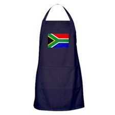 Distressed South Africa Flag Apron (dark)