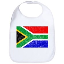 Distressed South Africa Flag Bib