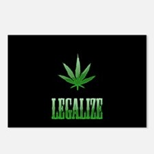 LEGALIZE Postcards (Package of 8)