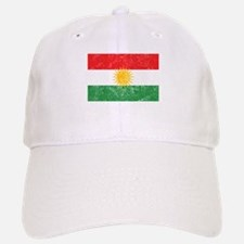 Distressed Kurdistan Flag Baseball Baseball Baseball Cap
