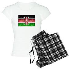 Distressed Kenya Flag Pajamas