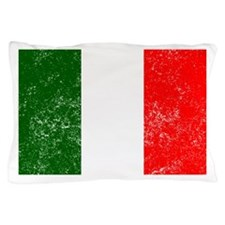 Distressed Italy Flag Pillow Case