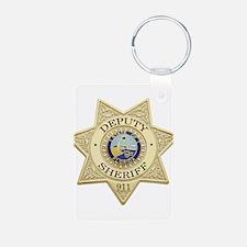 Cute Deputy Keychains