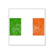 Distressed Ireland Flag Sticker