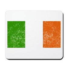 Distressed Ireland Flag Mousepad