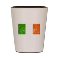 Distressed Ireland Flag Shot Glass