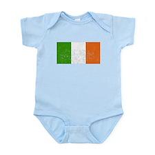 Distressed Ireland Flag Body Suit