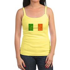 Distressed Ireland Flag Tank Top