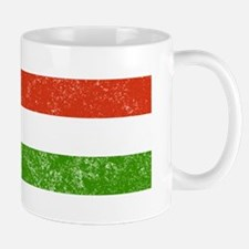 Distressed Hungary Flag Mugs