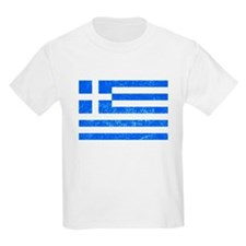 Distressed Greece Flag T-Shirt