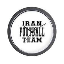Iran Football Team Wall Clock
