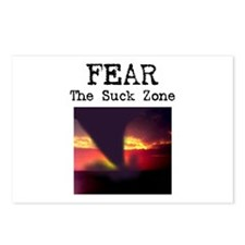 Fear the Suck Zone Postcards (Package of 8)