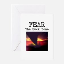 Fear the Suck Zone Greeting Cards (Pk of 10)