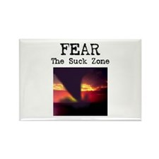 Fear the Suck Zone Rectangle Magnet