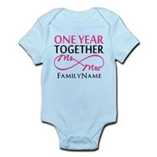 1st anniversary Infant Bodysuit
