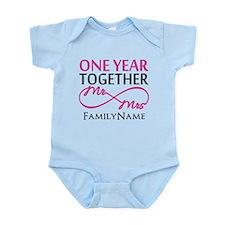1st anniversary Infant Bodysuit