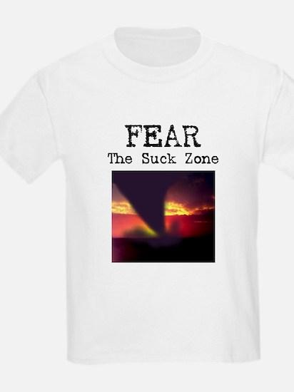 Fear the Suck Zone Kids T-Shirt