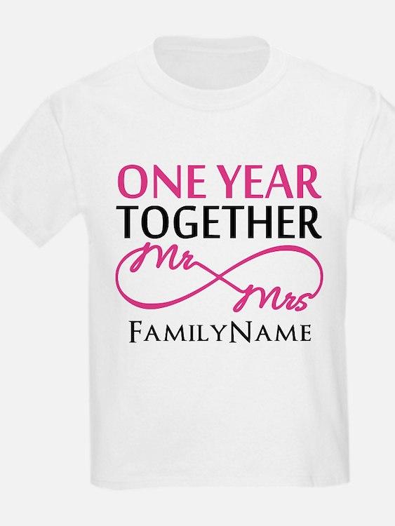 1st wedding anniversary 1st wedding anniversary kid s clothing 1st