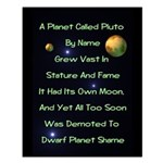 Pluto's Lament Small Poster