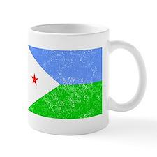 Distressed Djibouti Flag Mugs