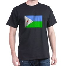 Distressed Djibouti Flag T-Shirt
