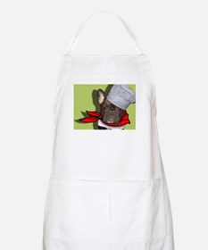 The Frenchie Chef BBQ Apron