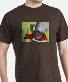 The Frenchie Chef T-Shirt