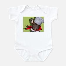 The Frenchie Chef Infant Bodysuit