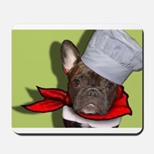The Frenchie Chef Mousepad