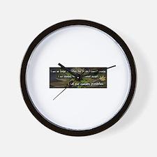 NO LONGER ACCEPTING Wall Clock