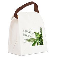 ORIGINAL MEDICINE Canvas Lunch Bag