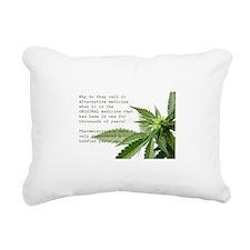 ORIGINAL MEDICINE Rectangular Canvas Pillow