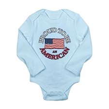 Proud to be an America Long Sleeve Infant Bodysuit