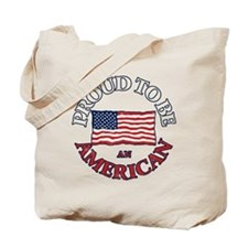 Proud to be an American Tote Bag