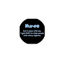 Don't mess with me! Mini Button (10 pack)
