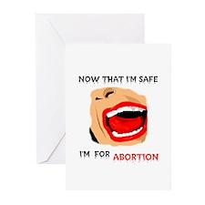 ABORTION KILLS Greeting Cards (Pk of 10)