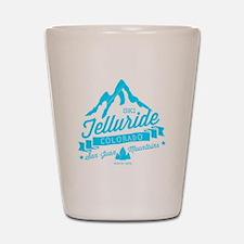 Telluride Mountain Vintage Shot Glass