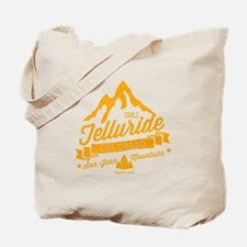 Telluride Mountain Vintage Tote Bag