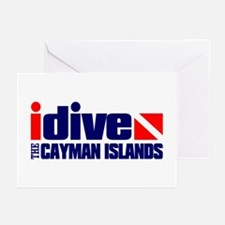 idive (Cayman Islands) Greeting Cards