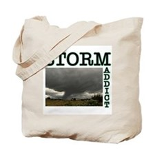 Storm Addict Tote Bag