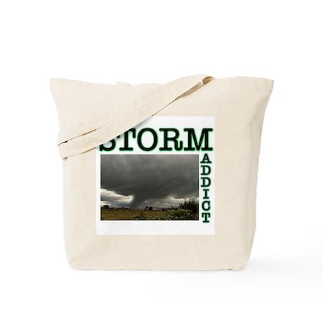 Storm Addict Tote Bag