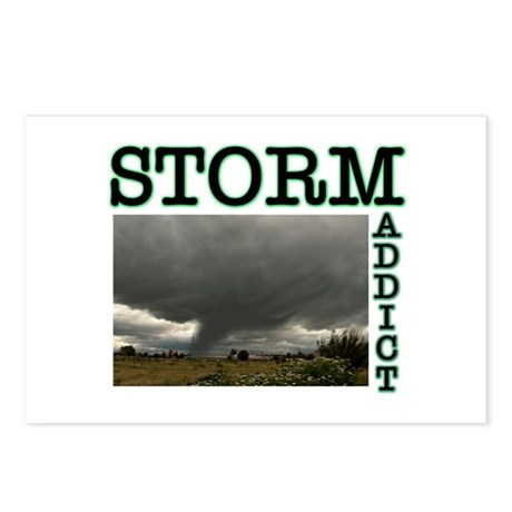 Storm Addict Postcards (Package of 8)