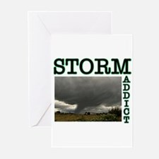 Storm Addict Greeting Cards (Pk of 10)