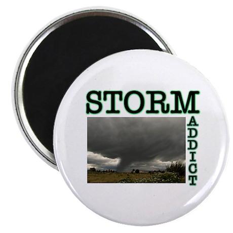 Storm Addict Magnet