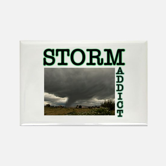 Storm Addict Rectangle Magnet