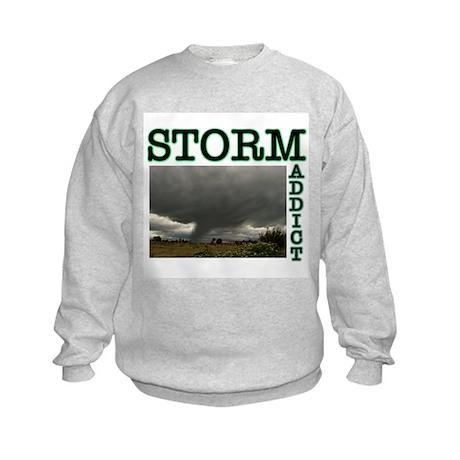 Storm Addict Kids Sweatshirt