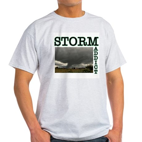 Storm Addict Ash Grey T-Shirt